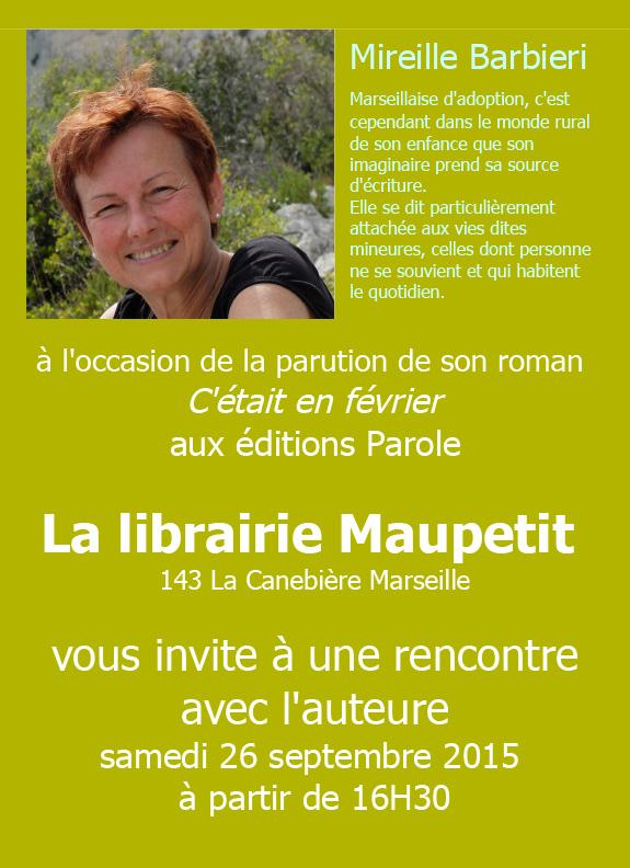 Rencontre-signature-Mireille-Barbieri
