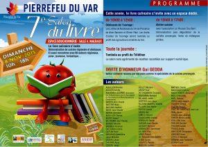 Salon du Livre Pierrefeu 2015