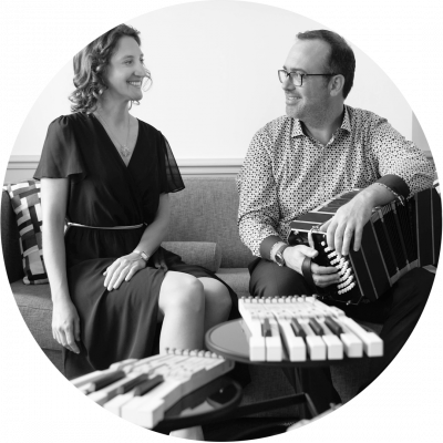 Sébastien Authemayou et Marielle Gars