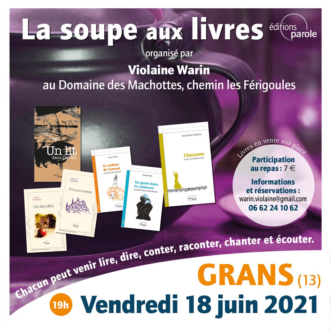 Violaine Warin, Éditions Parole
