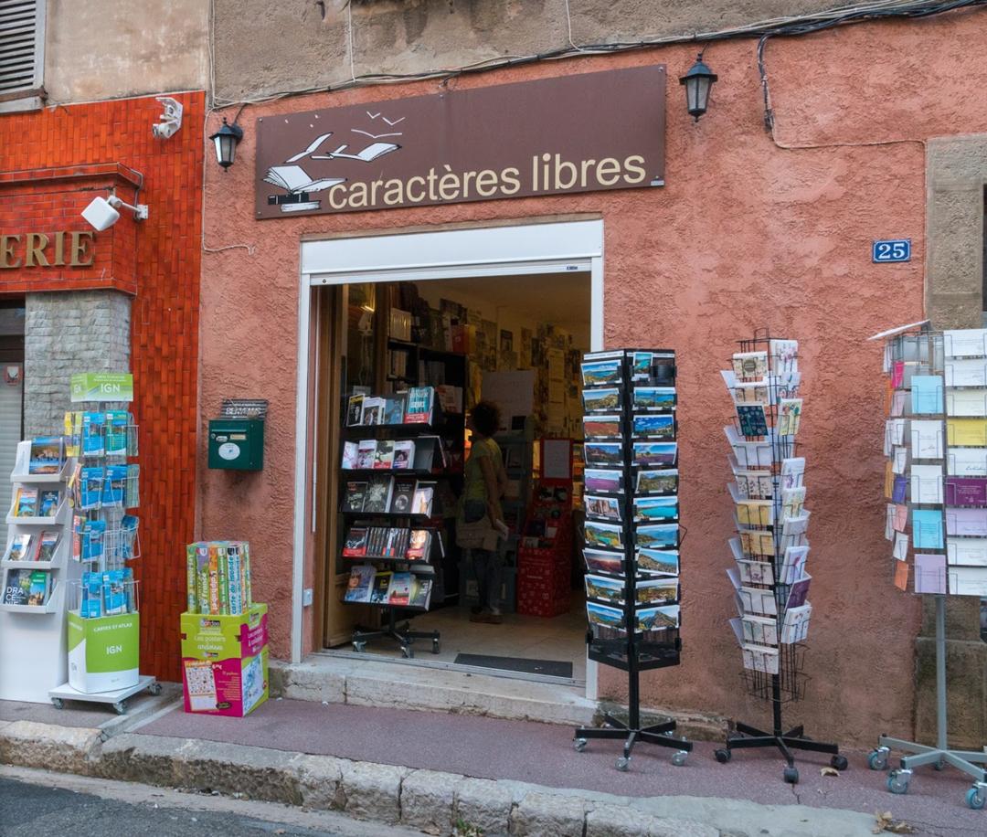 Librairie Caractères libres